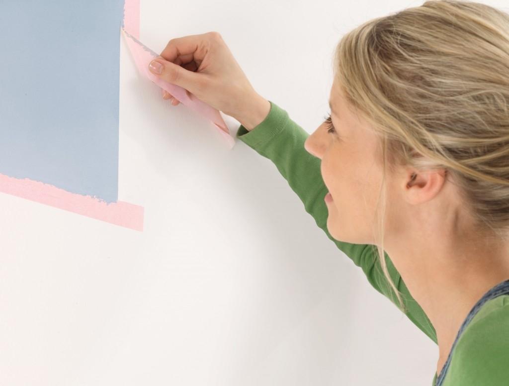 Přesné a ostré hrany při malování
