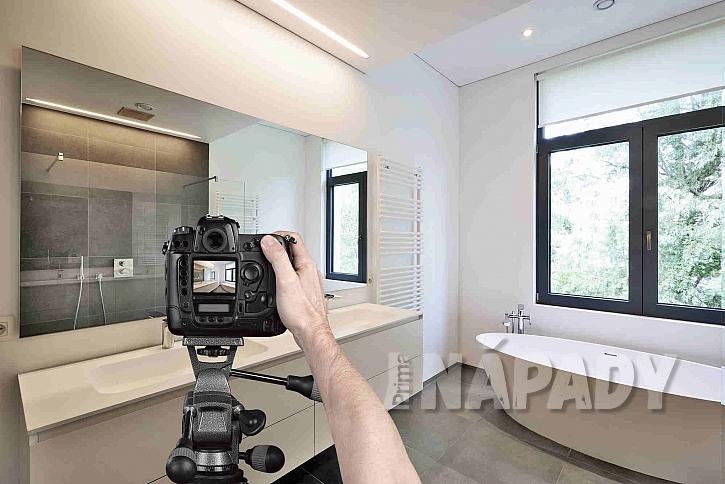 Fotografování je součástí práce homestagera