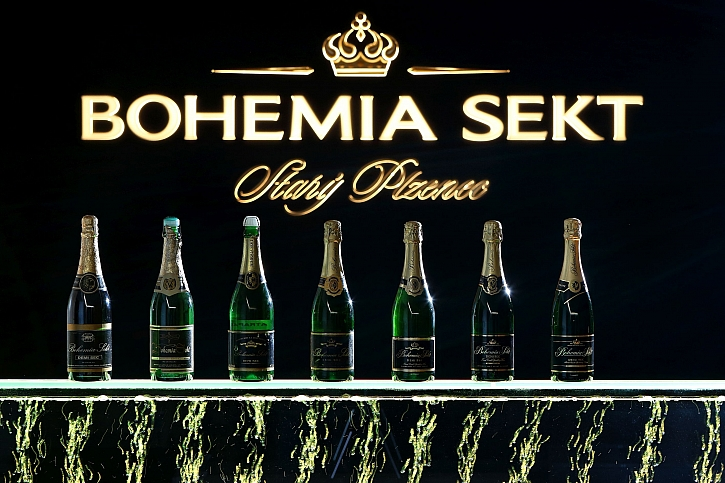 Bohemia Sekt lahve all