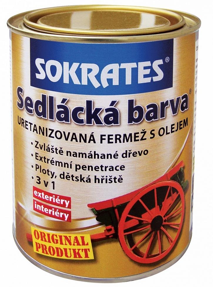 Pro snadnou práci a dokonalé ošetření zvolte SOKRATES Sedláckou barvu
