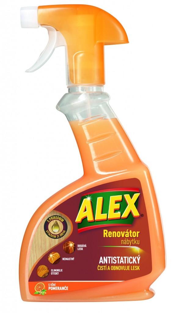 ALEX - Renovátor nábytku s vůní pomeranče
