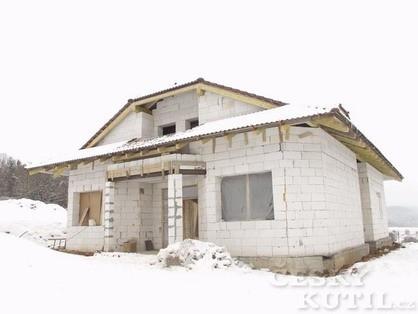 Pórobeton - stavba i svépomocí