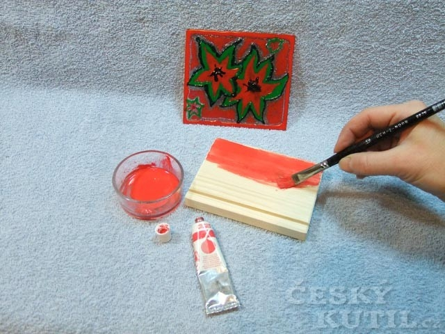 Jak vyrobit svícen za pomoci barev na sklo