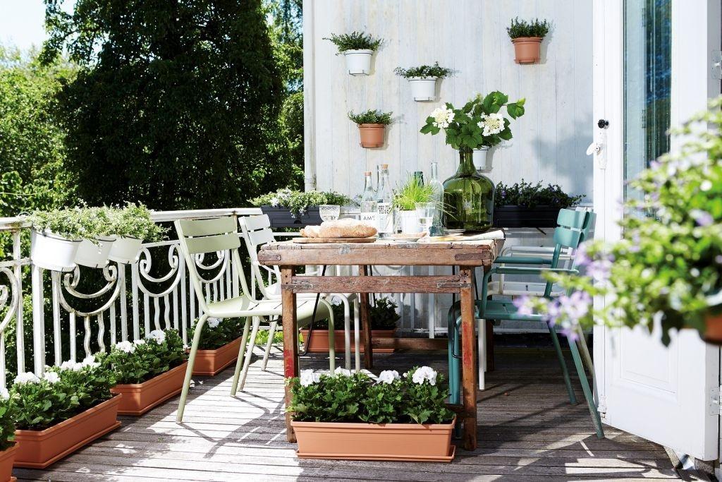 Vytvořte si zahradu na balkoně či terase
