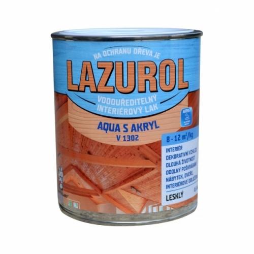 Lazurol Aqua S Akryl V1302 lesk lak na dřevo 600 g