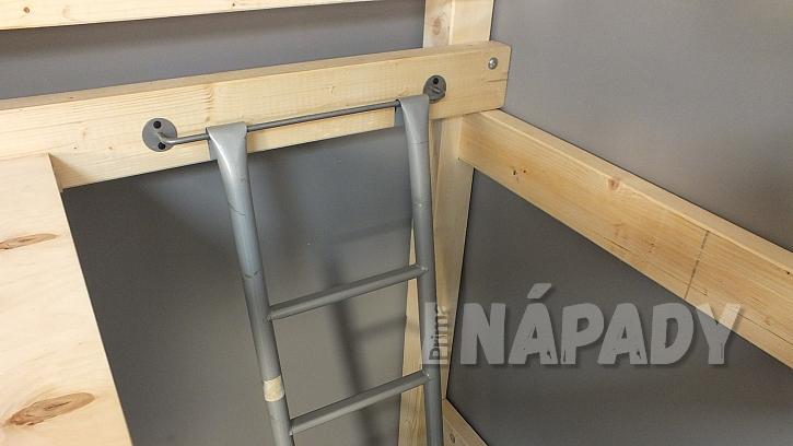 Výroba zvýšeného patra: připravíme místo pro žebřík