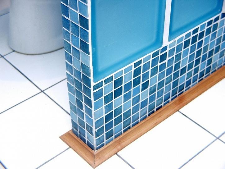 Koupelna v modrém