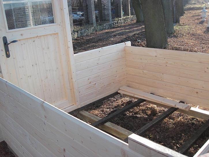 Zahradní domek za jediný den