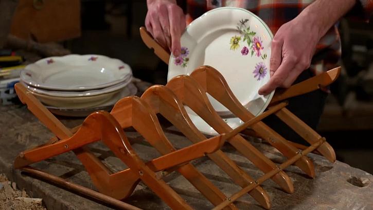 Staré zdobené talíře