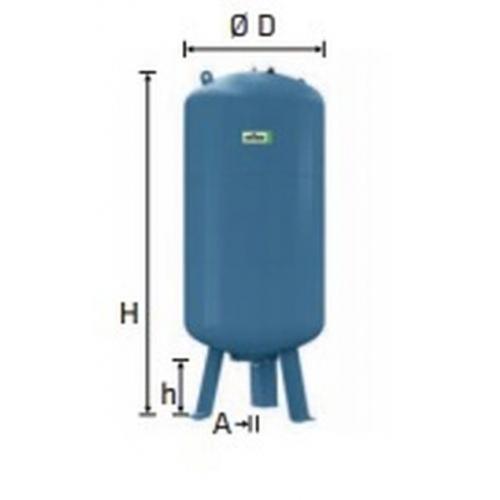 Refix expanzní nádoba DE/400/25 modrá