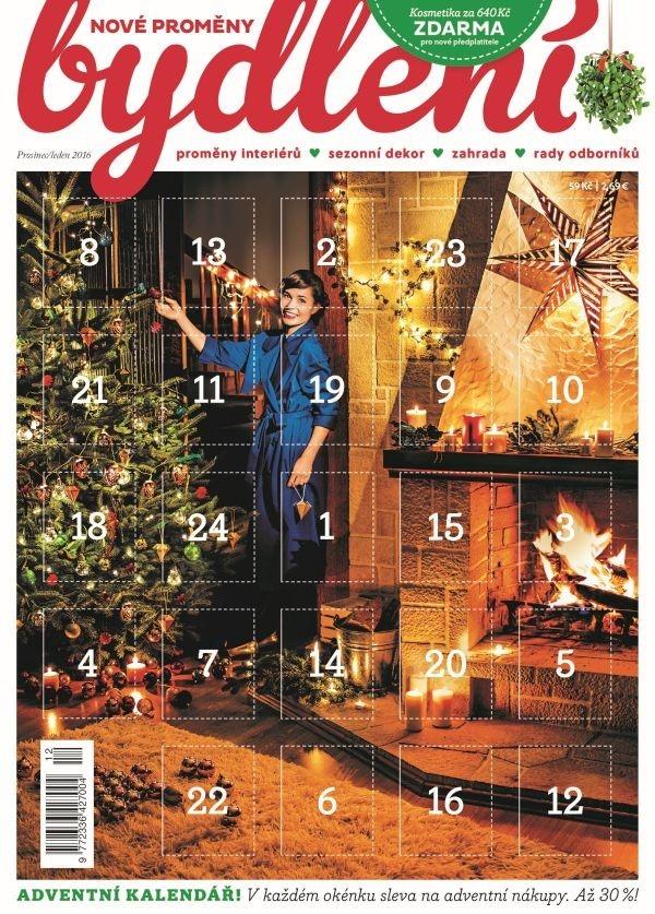Adventní kalendář Nové proměny bydlení a Krásný venkov