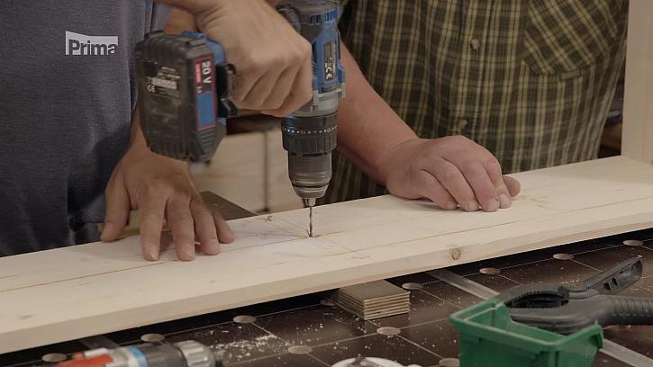 Vrtání díry do dřeva