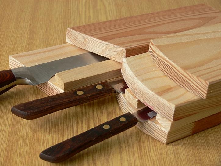Jak vyrobit stojan na nože?