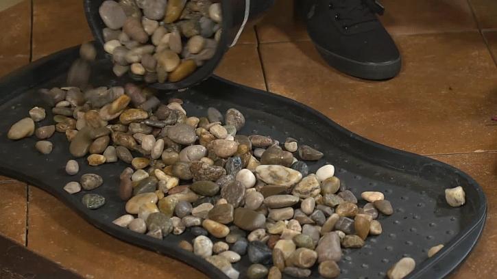 Sypání kamenů