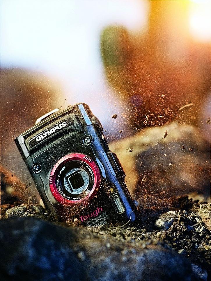 S fotoaparáty TG si vyhrajete