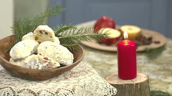 Recept na vynikající vánoční mini štolky