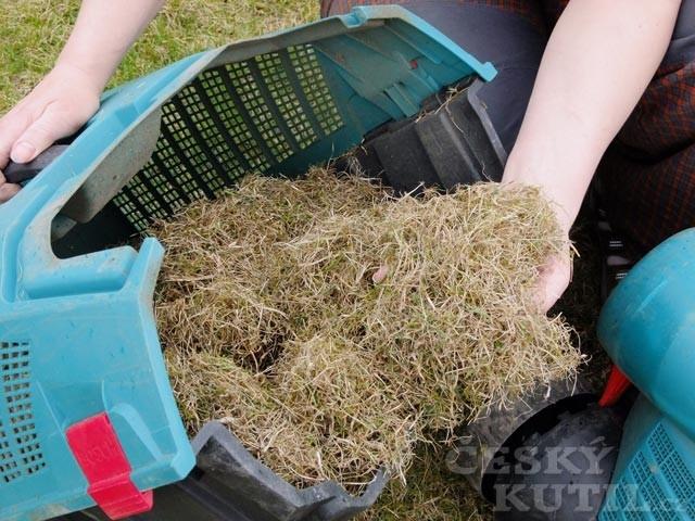 Drátky vyčesaná suchá tráva