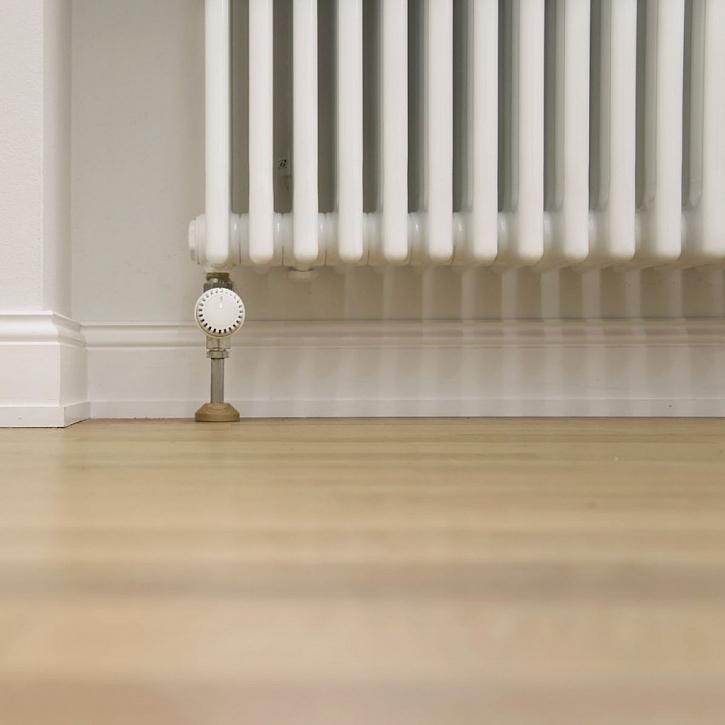 Klasický litinový radiátor