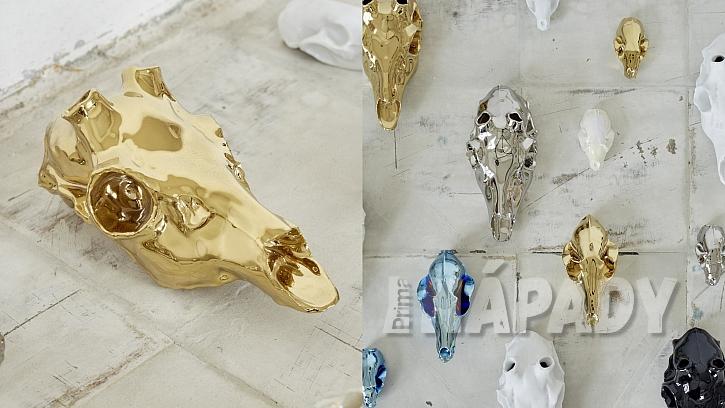 Porcelán, který se tváří jako lebky
