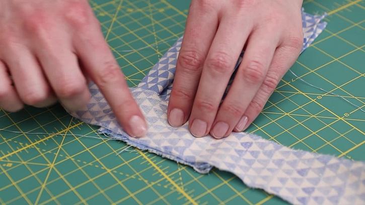 Příprava tkaniček