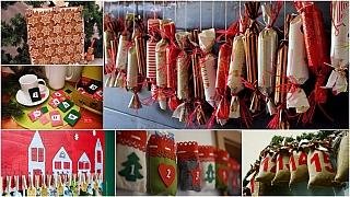 Nejlepší DIY adventní kalendáře: Odpočítávání dnů do Vánoc je zábava
