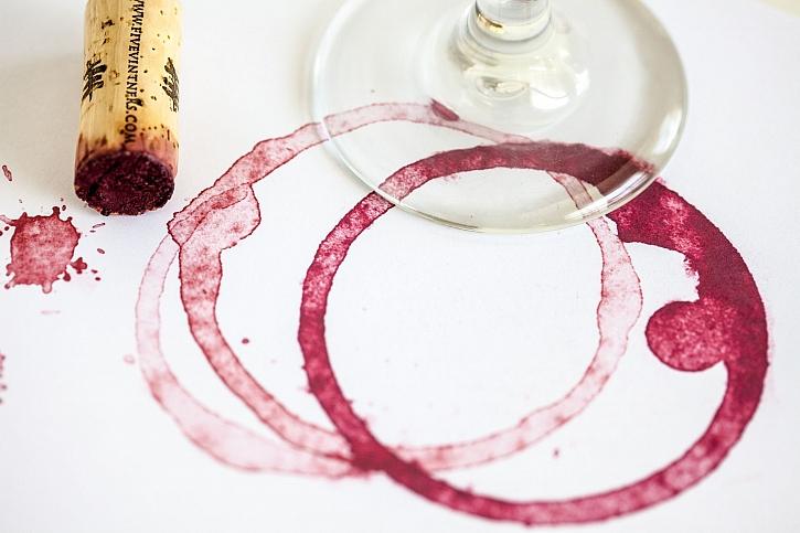 Skvrny od vína