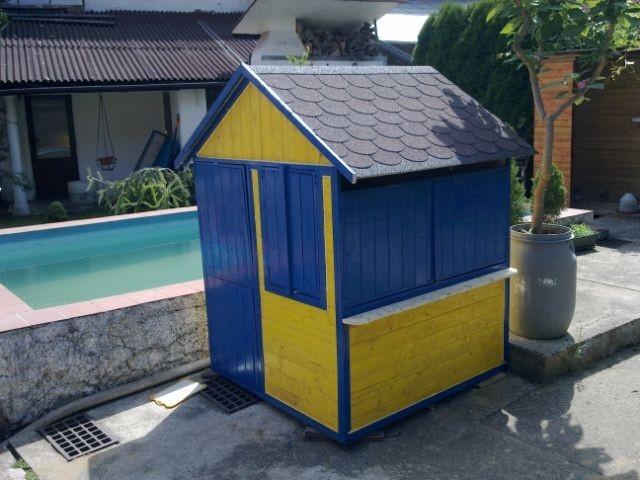 Domeček na zahradu - obchůdek pro děti