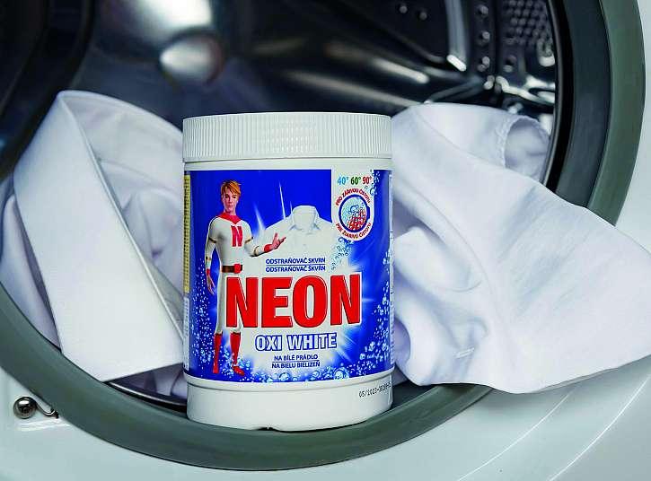 NEON odstraňovač skvrn OXI WHITE (750 g)