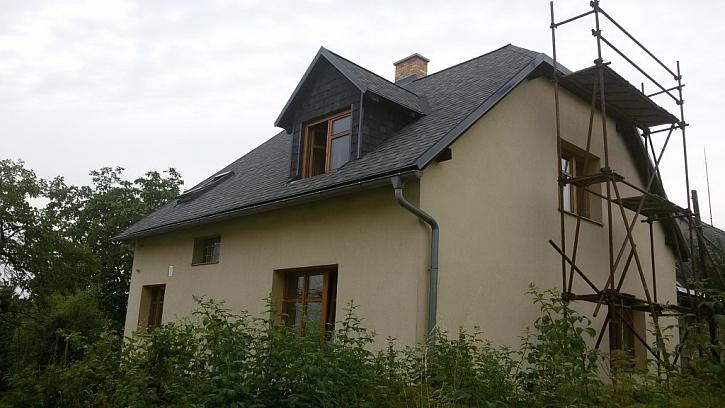 Rekonstrukce eternitové střechy