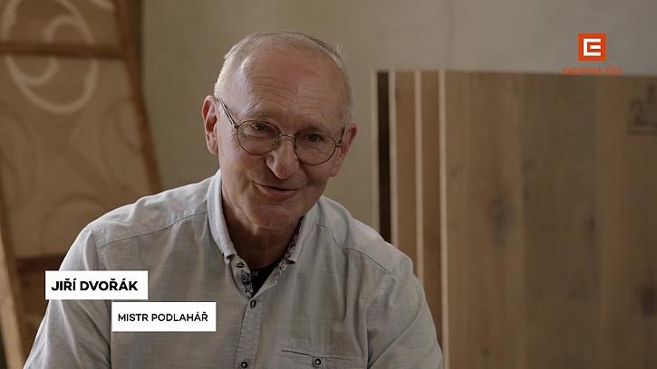 Jiří Dvořák je Jakubův mistr a zakladatel cechu parketářů.