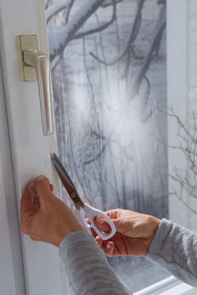Termoizolační fólie na okna
