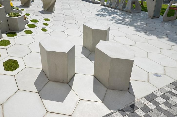 Originální propojení přírody a betonu