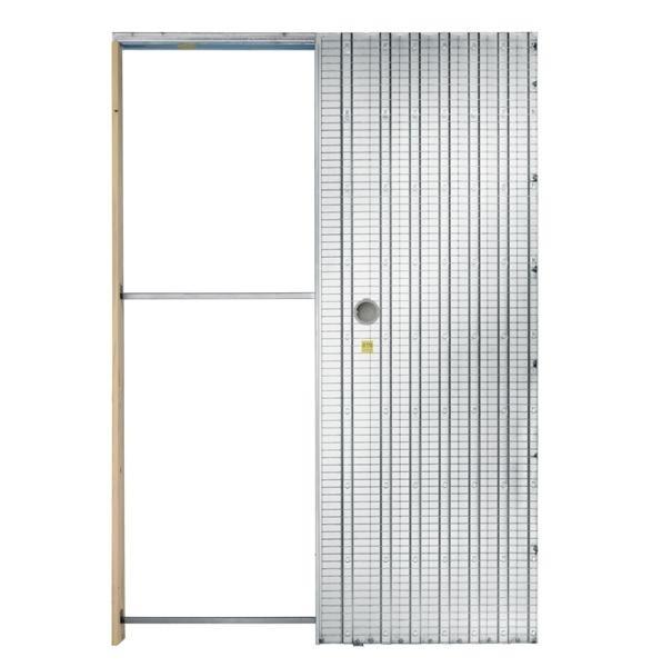 Stavební pouzdro pro zasouvací dveře