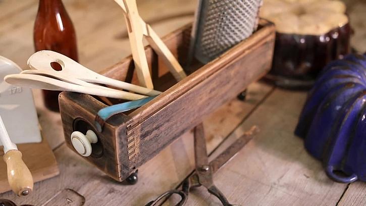 Stylová krabička ze starého šuplíku bude sloužit dál