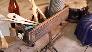 Stylová krabička ze starého šuplíku