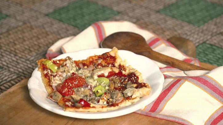 Jednoduchý recept na pizzu z rohlíků