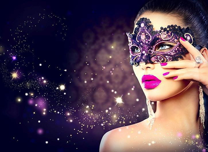Vyrobte si masku na ples i na masopust (Zdroj: Depositphotos)