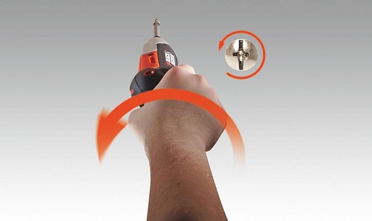 Gyroskopický šroubovák GYRO DRIVER