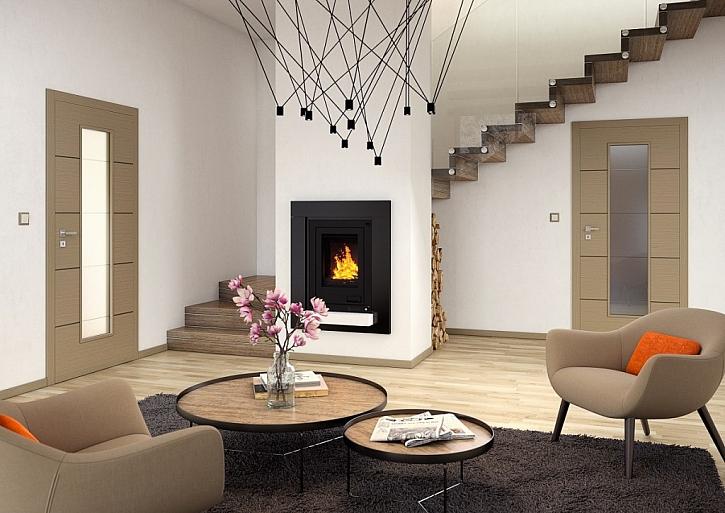 Interiérové dveře SAPELI, model NOTE, šedé hedvábí. Cena: 8.690 Kč.
