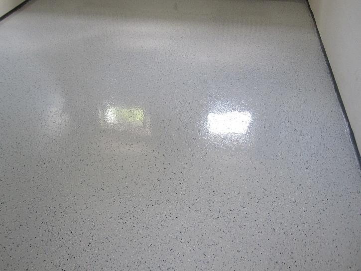 Epoxidová podlaha s hladkým povrchem