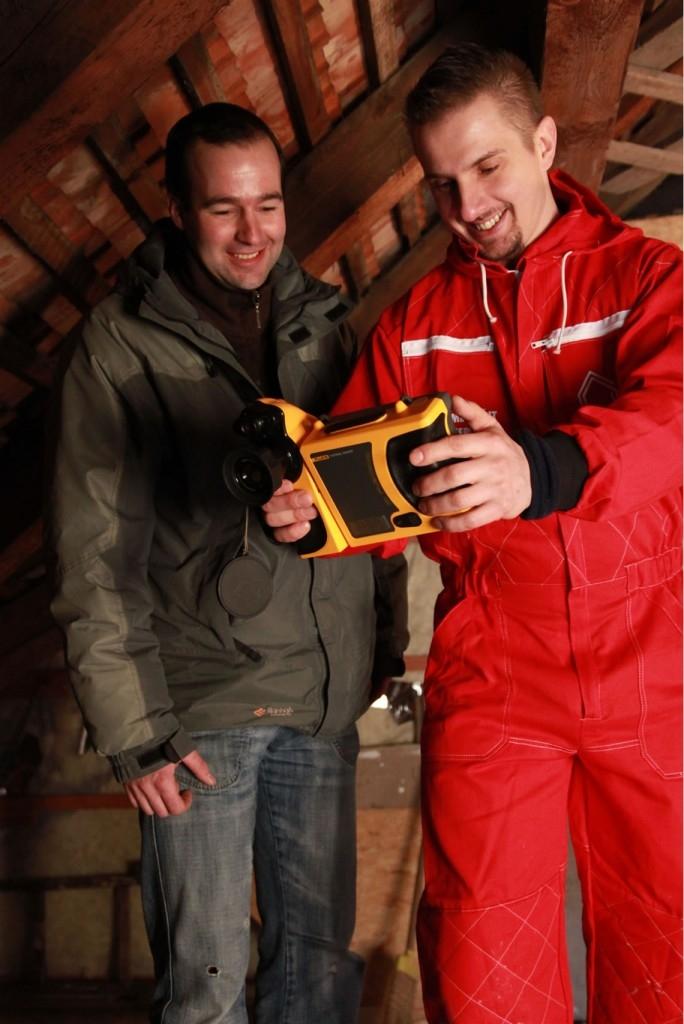 Únik tepla - měření termokamerou zdarma od IP Polná