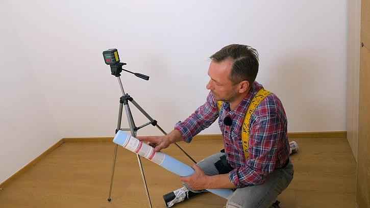 Příprava na práci s tapetou