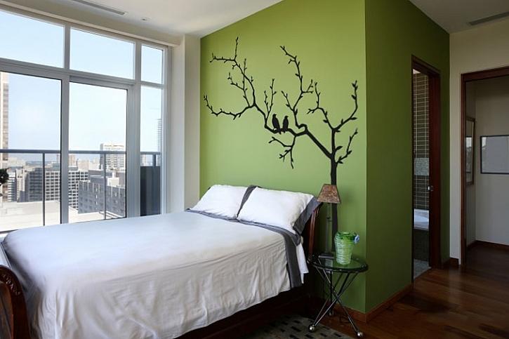 Samolepicí tapety dokáží během jednoho dne dokonale proměnit pokoj, ba dokonce i celý byt  2
