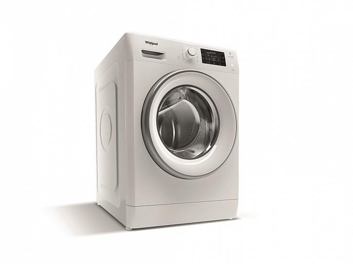 Nová předem plněná úzká pračka Whirlpool FreshCare+ FWSD71283WCV EU se samostatným parním programem i provzdušňováním již vypraného prádla párou