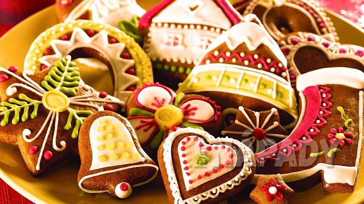Rychlé vánoční perníčky