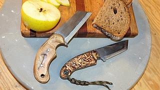 Správný muž má vkapse nůž. A nejlépe vlastnoručně vyrobený!