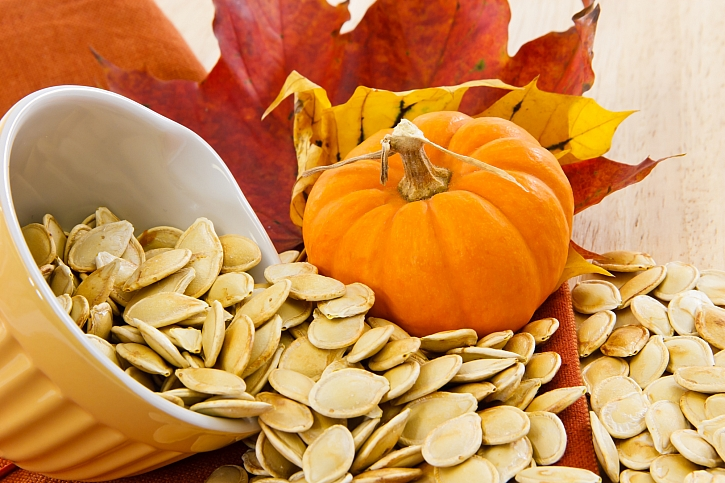 Semínka z dýně nevyhazujte, jsou zdraví prospěšná (Zdroj: Depositphotos)