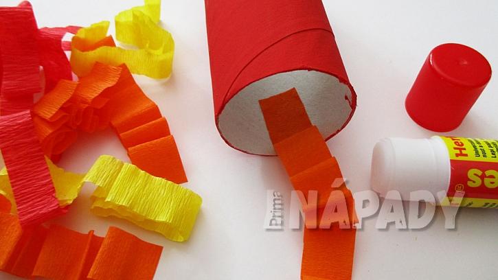 Chrliči papírových ohňů 3