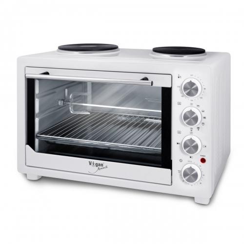 Vigan Mammoth T45L2P elektrická pečicí trouba s grilem a horkovzduchem