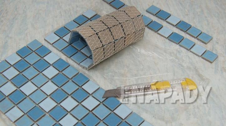 Tác s mozaikou: připravíme díly mozaiky